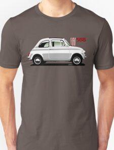 Classic Fiat 500F white T-Shirt