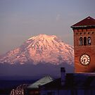 Rainier Clocktower by Christopher  Boswell