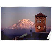 Rainier Clocktower Poster