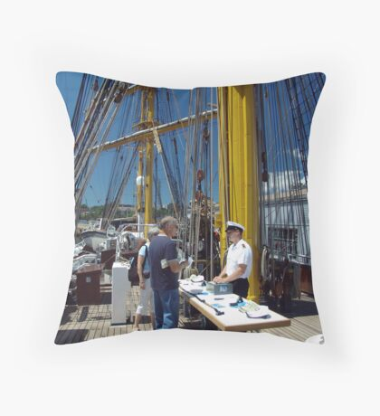 Questions and Answers Throw Pillow