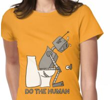 Do the Human Womens Fitted T-Shirt