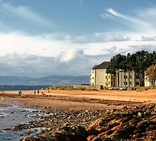 Largs Beach by Eddie Dowds