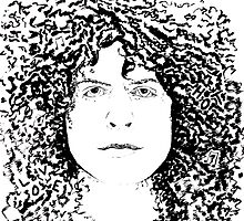 Marc Bolan, T Rex by closetpainter