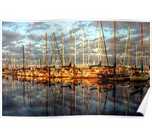 Waiting for the Regatta ~ HDR Series ~  Poster