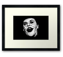 The Joker - Jack Nicholson  Framed Print