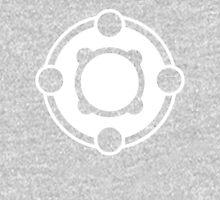 Powerfour Crop Circle white Unisex T-Shirt
