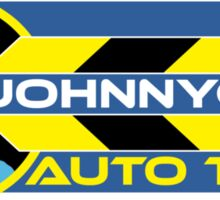 Johnnycab Auto Taxis Sticker