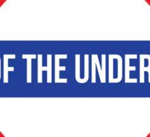 sound of the underground Sticker