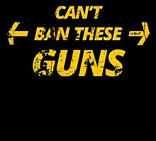 STEPHEN HARPER CAN'T BAN THESE GUNS by birthdaytees