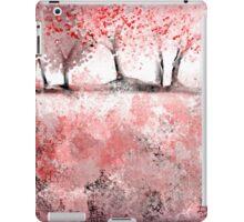 Soft-Red Landscape iPad Case/Skin