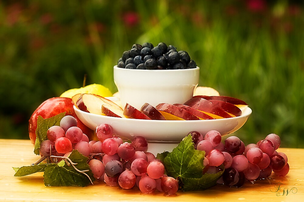 Blueberry Delight! by Trudy Wilkerson