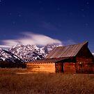 Grand Tetons Starshower by Christopher  Boswell