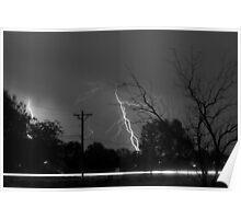Lightning Storm 06.05.09 Poster
