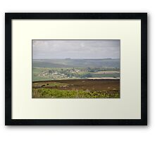 Marrick from the Moor Framed Print