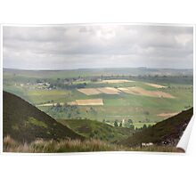 Dales Patchwork Poster