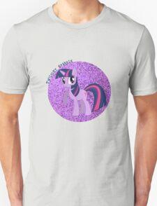 TwilightSparkleGlitter Unisex T-Shirt