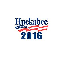 Mike Huckabee 2016 Photographic Print