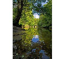 SUMMER REFLECTIONS, HARTFORD BRIDGE Photographic Print