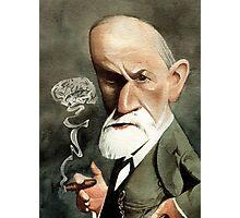 Sigmund Freud with Cigar  Photographic Print
