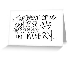 The Best of Us Greeting Card