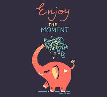 Enjoy the Moment Womens Fitted T-Shirt