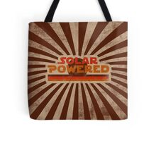 Retro Solar Powered Tote Bag