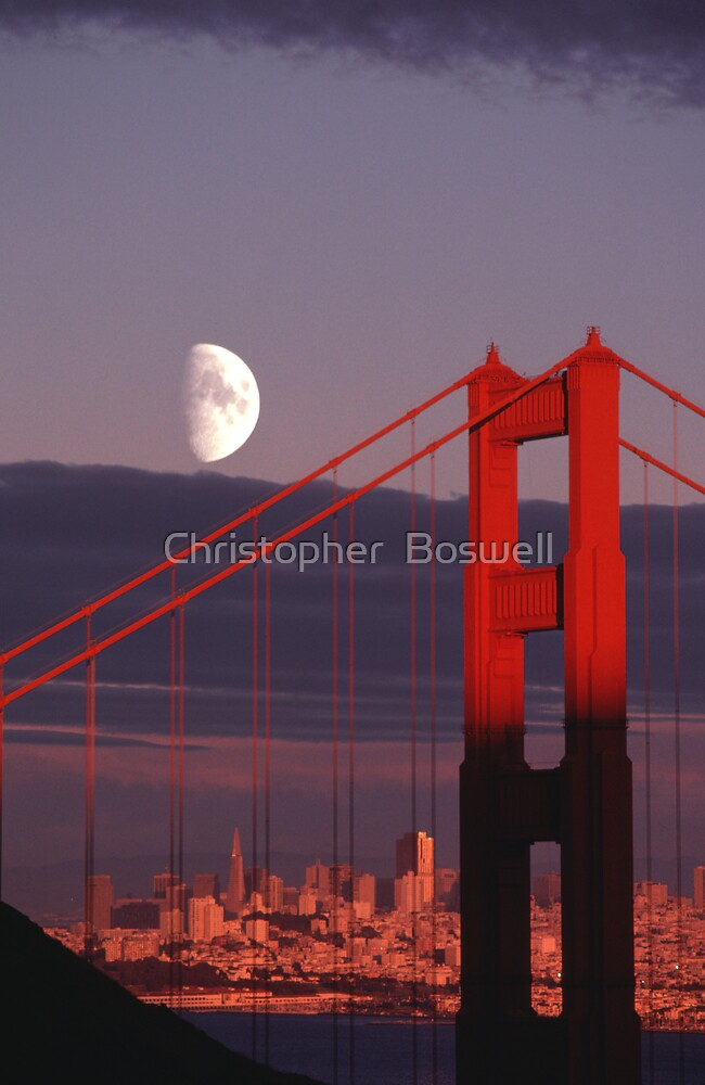 Golden Gate by Christopher  Boswell