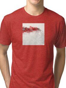 Red Landscape Impressions Tri-blend T-Shirt