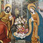 Chapel de Sainte Roseline - Nativity, Ecole de Nice - 1541 by presbi