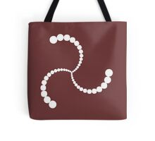 Spiral Crop Circle Tote Bag