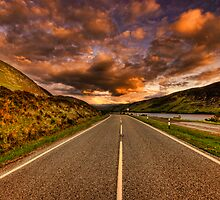 The Road Ullapool by Fraser Ross
