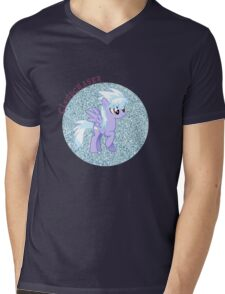 Cloudchaser Glitter Mens V-Neck T-Shirt