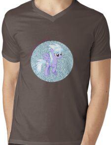 Cloudchaser Glitter Mens V-Neck T-Shirt