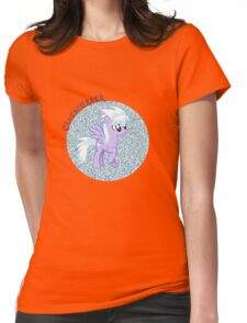 Cloudchaser Glitter Womens Fitted T-Shirt