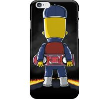 Bart to the Future iPhone Case/Skin