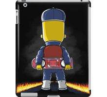 Bart to the Future iPad Case/Skin