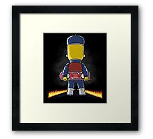 Bart to the Future Framed Print
