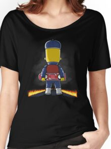 Bart to the Future Women's Relaxed Fit T-Shirt