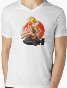 lola Mens V-Neck T-Shirt