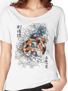 Thrashing Koi Women's Relaxed Fit T-Shirt