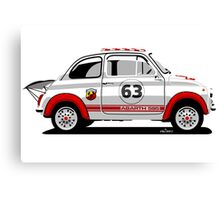 Racing Fiat Abarth 595 Canvas Print