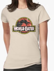 World-Eater Beware! Womens Fitted T-Shirt
