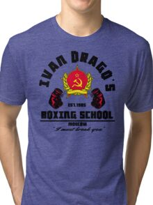 I. Drago's boxing school Tri-blend T-Shirt