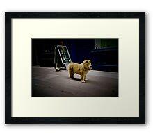 Soho,London(lomo-lca)  Framed Print