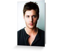 Jensen Ackles Supernatural Greeting Card