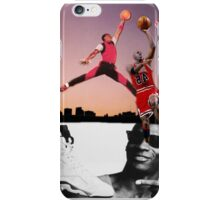 Michael Jordan - Jump Shot  iPhone Case/Skin