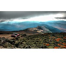 Clouds & Cars Photographic Print