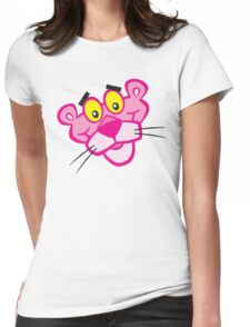 the pink panther Womens Fitted T-Shirt