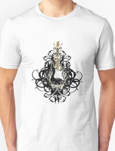 SExY  BLacK GUiTaR ReMiXEd T-Shirt