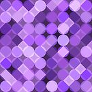 Purple Sequins  by Georg Varney